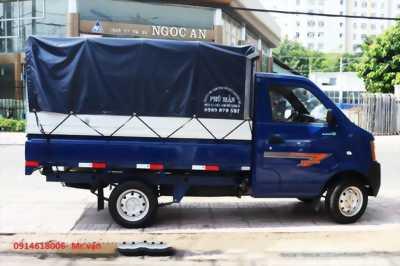 Xe DONGBEN 870kg thùng kín giá cạnh tranh, thủ tục nhanh