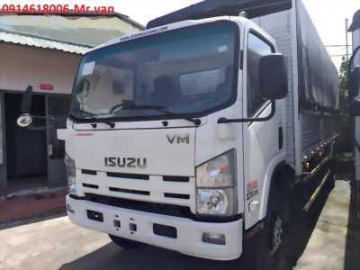 Đại lý bán ISUZU 8T2, thùng dài 7m gia khuyến mãi, thủ tục nhanh gọn