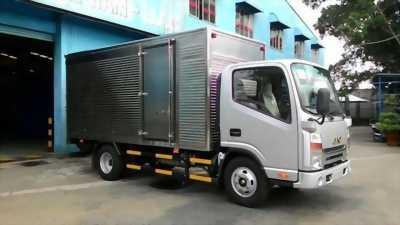 Xe tải jac thùng kín, bảo hành 5 năm