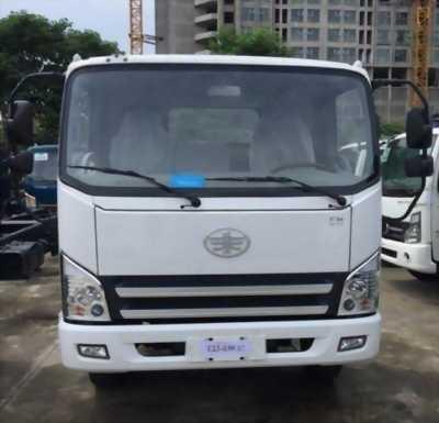Xe tải faw 7.3 tấn thùng dài 6m2 máy huyndai