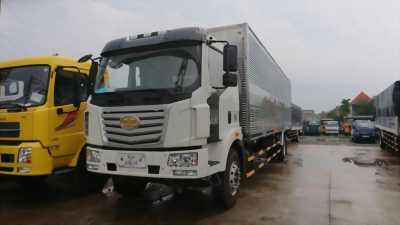 Bán xe tải FAW thùng dài 9m7, xe nhập khẩu giá khuyến mãi.