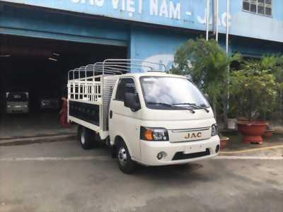 Bán xe tải JAC 990KG, máy dầu, xe thùng mui bạt giá tốt