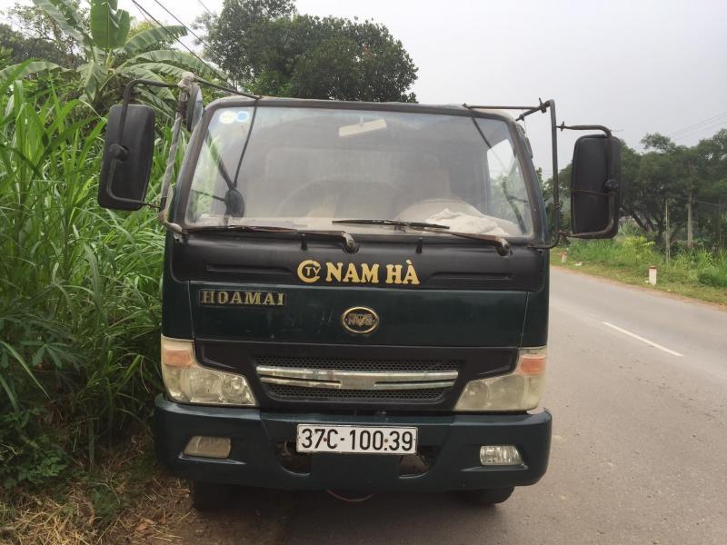 Bán xe tải ben 1,8 tấn hoa mai