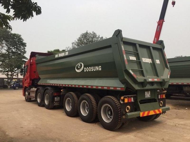Rơ Mooc Ben Doosung 3 trục, 28.5 tấn, 24 khối