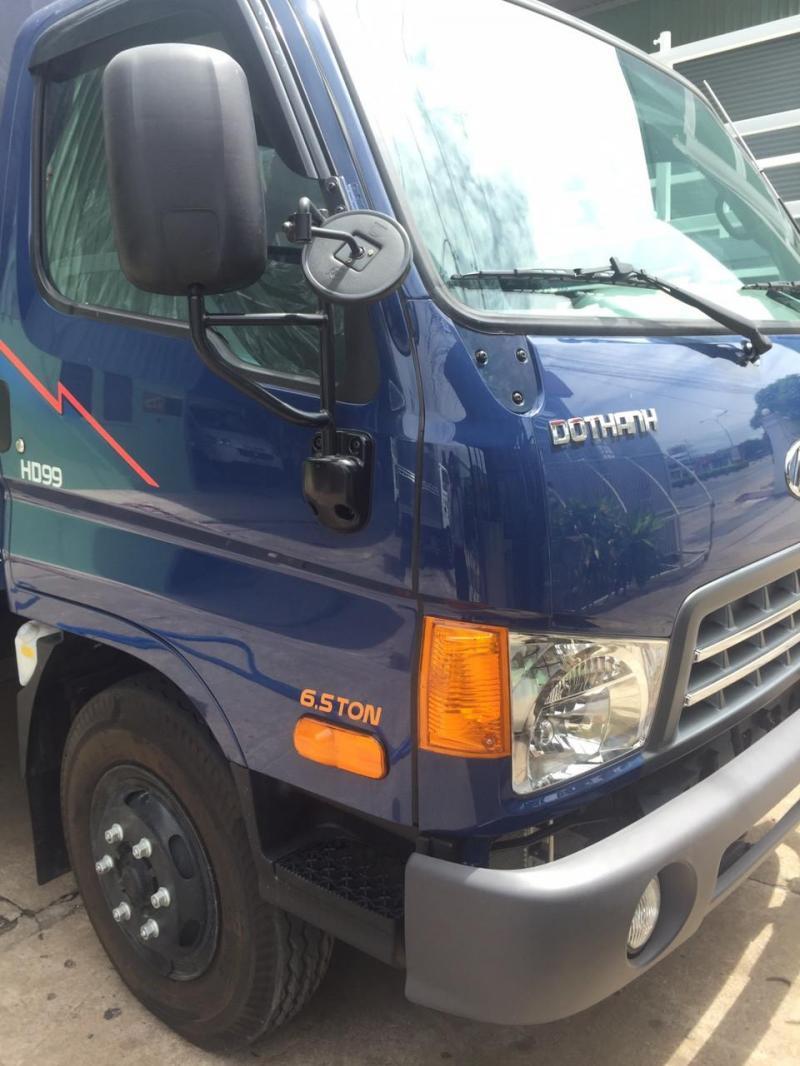 Xe tải hyundai hd99 sắt xi ngắn đóng ben chuyên dùng