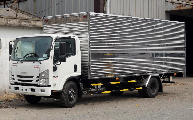 Tư vấn mua xe tải isuzu 5,5T 5T5 5,5 tấn trả gópTư vấn mua xe tải