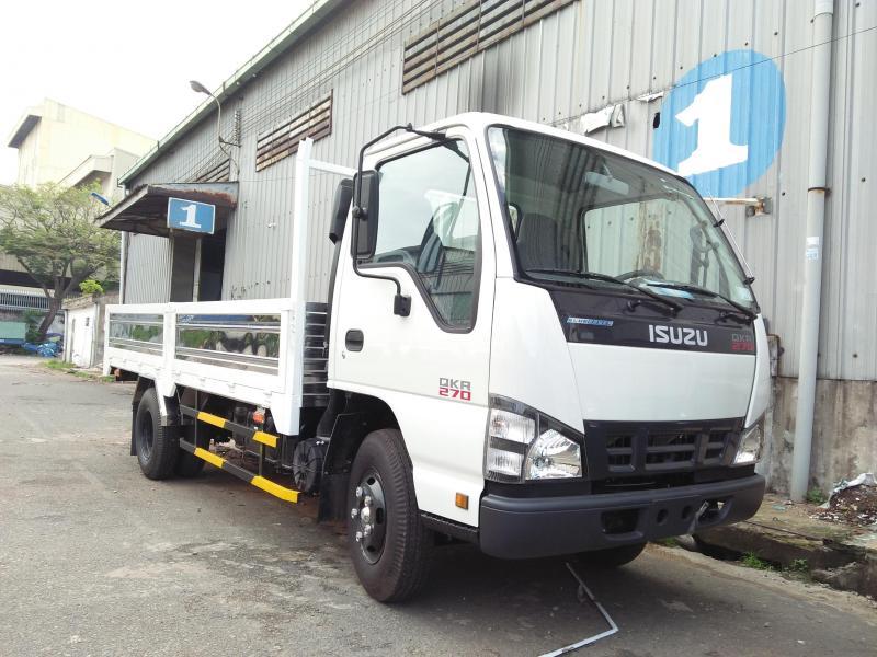 Giá xe isuzu 2,5T 2T5 2,5 tấn thùng lửng dài 4m3 đời 2018