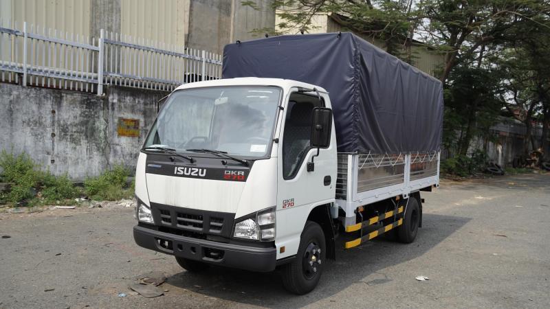 Bán xe tải thùng bạt Isuzu, Bán xe tải Isuzu 1t4 1t9 4t.