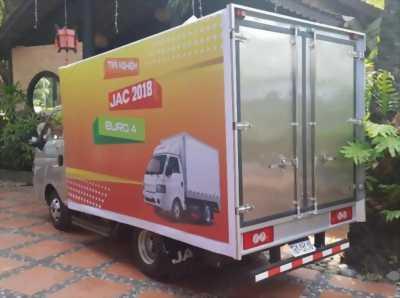 xe tai tra gop jac x150 1500kg thùng kín