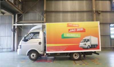 Bán JAc X5 thùng kín tại Thủ Đức, giá cạnh tranh