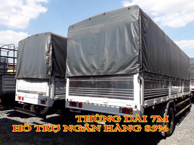 Xe tải Isuzu Vĩnh Phát 8 tấn 2 - Hổ trợ trả góp lên đến 85% - Lãi suất thấp