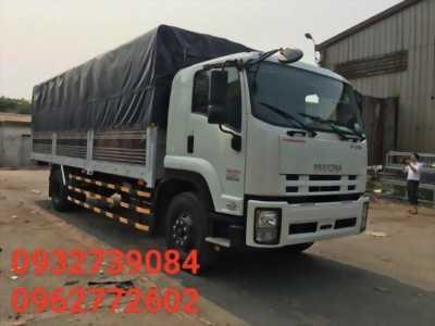 Xe Isuzu Vĩnh Phát 8 tấn 2 thùng dài 7m, 100 triệu nhận xe