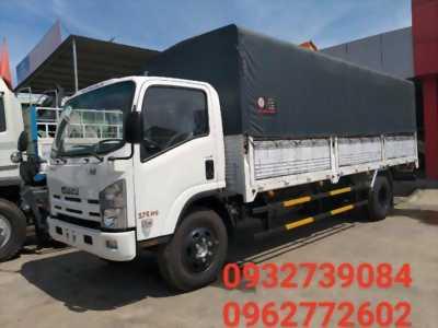 Xe tải Isuzu Vĩnh Phát 8 tấn 2 thùng dài 7m