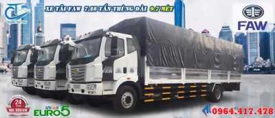 Xe tải FAW 7t25, thùng dài 9m7, nhập khẩu chính hãng giá cực tốt