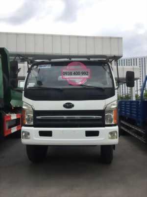 Xe tải 7t thùng dài 6m7 tặng 1 cây vàng SJC9999, giá dưới 400tr