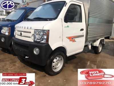 Xe tải nhỏ DONGBEN thùng kín 770kg , KT thùng dài 2.450