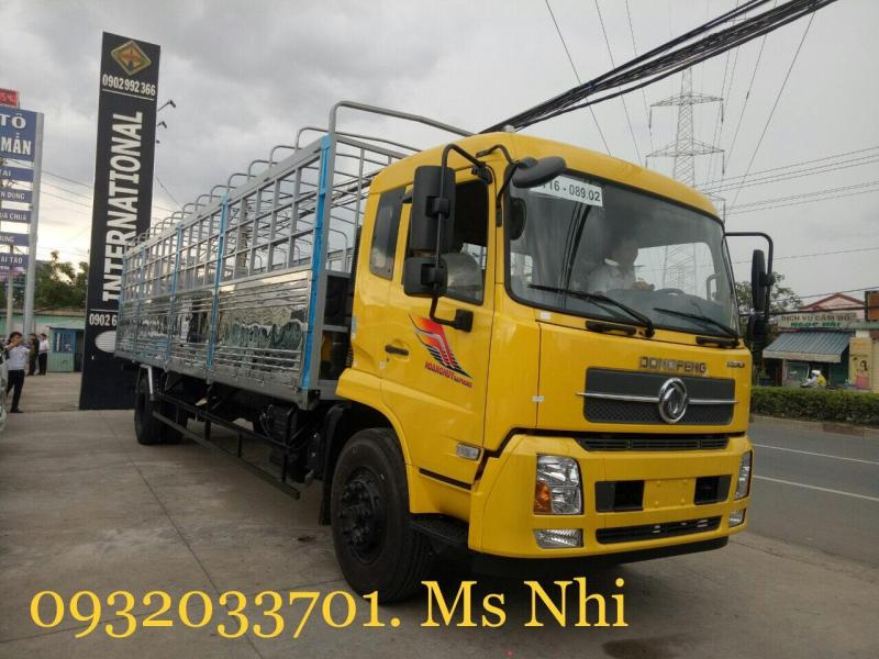 Xe Tải Dongfeng 8 tấn b180, dongfeng hoàng huy b180 thùng dài