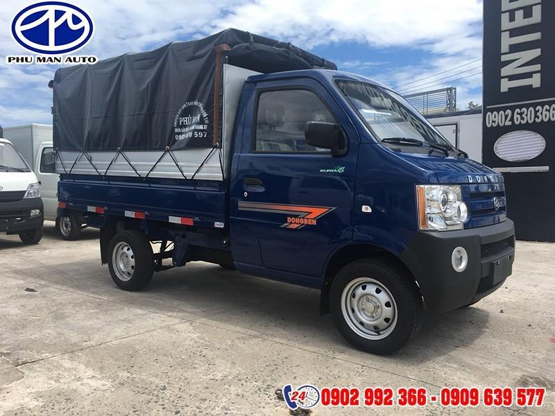 Xe Tải Dongben 870kg/ Xe Tải Nhỏ/ Trả Góp 80% xe