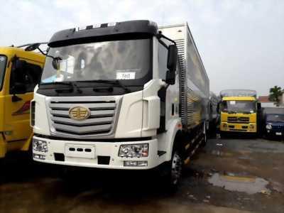 FAW thùng siêu dài 9m7 - tải trọng 7t25 - bán trả góp lên đến 80%