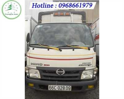 Bán xe tải Hino 5 tấn thùng mui bạt 4.5 m đời 2014