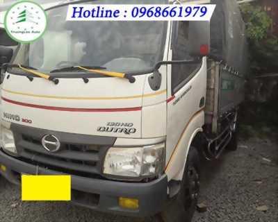 Bán xe tải Hino 5 tấn thùng mui bạt 2014