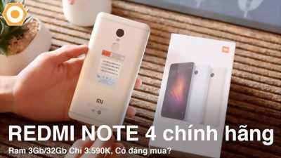 Xiaomi Redmi Note 4/4X 32GB xanh dương