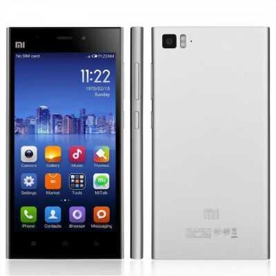 Xiaomi Mi3 đen giá 1tr nhé. Zin 99%