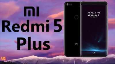 Xiaomi Redmi 5 Plus đen 32GB cực đẹp