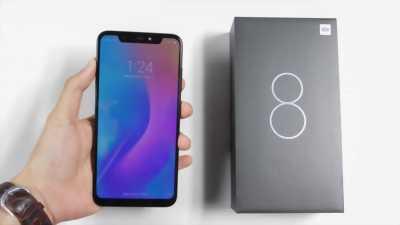 Xiaomi Mi 8 đen Ram 8gb+128gb new 100% quận 3