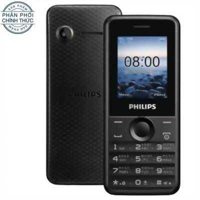 Philips E105 2 Sim, màu đen