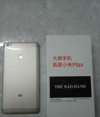 Xiaomi Mi Max Ram 2GB Rom 16GB còn bảo hành