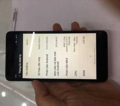 Bán điện thoại xiaomi redmi note 2 hoặc giao lưu